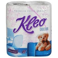 """Бумажные полотенца: Клео/""""Ь"""" 2сл белые"""