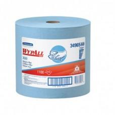 Kimberly-Clark: Салфетки Вайпол Х60 1100 листов 1-слойные синие
