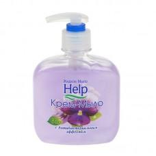 Мыло жидкое: ХЭЛП 300мл туалетное с антибактериальным эффектом ФИАЛКА