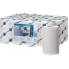 Tork: Полотенца бумажные M3 Reflex Universal мини 120м/23,5 1сл протирочные в рулоне с ЦВ белые со съемной втулкой