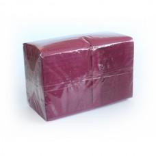 Бумажные салфетки: столовые Big Pack 1сл 400листов 24х24 бургунди