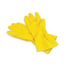 Перчатки: резиновые латексные плотность нормал ХL с минимальным хлопковым напылением