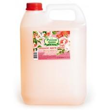 Мыло жидкое: АМС Русские травы 5л туалетное Крем-мыло.