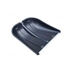 Хозяйственный инвентарь: Лопата для снега 410х420 ПАМИР пластик с металлической планкой