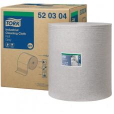 Tork: Салфетка W1 Premium 400м/38 1сл 950л нетканый материал для удаления масла и жира серая