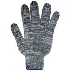 Перчатки: х/б вязаные с ПВХ 4-х ниточные Графит