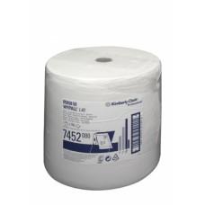Kimberly-Clark: Салфетки Вайпол L40 750л 1сл белые