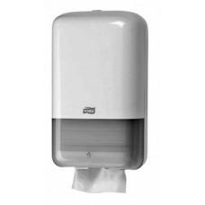 Tork: Диспенсер T3 Elevation для туалетной бумаги в пачках белый