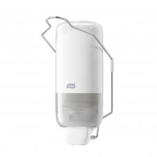 Tork: Диспенсер S1 Elevation 1л для жидкого мыла белый с локтевым приводом