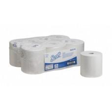 Kimberly-Clark: Полотенца бумажные Скотт Контрол 250м/19,8 1сл белые