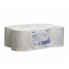 Kimberly-Clark: Полотенца бумажные Скотт 304 метра 1-слойные белые