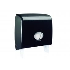 Kimberly-Clark: Диспенсер Аквариус для туалетной бумаги в рулоне черный Jumbo Non-Sto