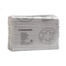 Kimberly-Clark: Полотенца бумажные Хостесс 208 листов 1-слойные 22,5х33 см белые