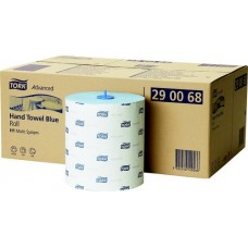 Tork: Полотенца бумажные H1 Advanced Matic 2сл 150м/21 синие