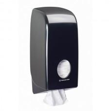 Kimberly-Clark: Диспенсер Аквариус для туалетной бумаги в пачках черный
