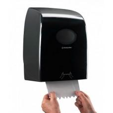 Kimberly-Clark: Диспенсер Аквариус для полотенец в рулоне черный