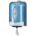 Tork: Диспенсер М3 Reflex мини для полотенец Reflex с центральной вытяжкой голубой