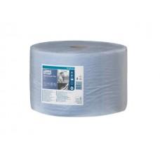 Tork: Салфетка W1 Advanced 510м/24 2сл 1500л бумажная протирочная голубая