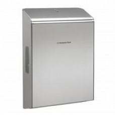 Kimberly-Clark: Диспенсер КК для полотенец в пачках  Мультифолд серебряный