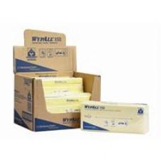 Kimberly-Clark: Салфетки Вайпол Х50 1-слойные 41,6*24,5 см желтые