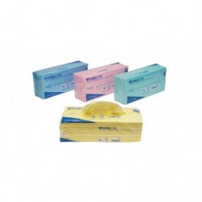 Kimberly-Clark: Салфетки Вайпол Х50 1-слойные 41,6*24,5 см красные