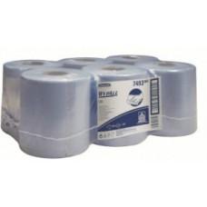 Kimberly-Clark: Салфетки Вайпол L10 525 листов 1-слойные синие