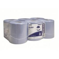 Kimberly-Clark: Салфетки Вайпол L10 630л 1сл синие