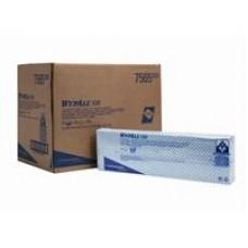 Kimberly-Clark: Салфетки Вайпол Х80 1-слойные 41,6*34,4 см синие