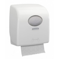 Kimberly-Clark: Диспенсер Аквариус Слимролл для полотенец в рулоне белый