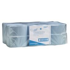 Kimberly-Clark: Полотенца бумажные Скотт 304м/20 1сл голубые