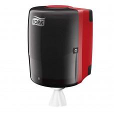 Tork: Диспенсер W2 Performance настенный черный для материалов в рулоне