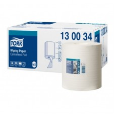 Tork: Полотенца бумажные M2 Universal 165м/19,5 1сл белые с центральной вытяжкой