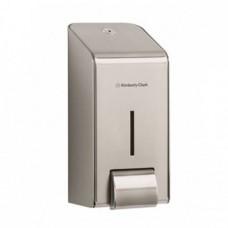 Kimberly-Clark: Диспенсер 1 литр для жидкого мыла металлический