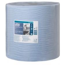 Tork: Салфетка W1 Advanced 510м/37 2сл 1500л бумажная протирочная голубая