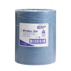 Kimberly-Clark: Салфетки Вайпол Х80 1сл 475л синие