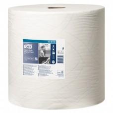 Tork: Салфетка W1 Advanced 340м/37 2сл 1000л бумажная повышенной прочности белая