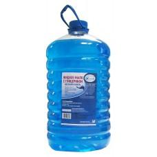 Мыло жидкое: VCLEAN 5л туалетное с глицерином ВЕСЕННЯЯ КАПЕЛЬ синее