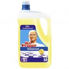P&G Моющее средство Мистер Пропер 5л для влагостойких поверхностей Лимон