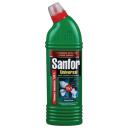 Чистящее средство: САНФОР УНИВЕРСАЛ гель 750г Морской Бриз с хлором для туалета, ванной, кухни
