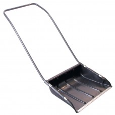 Хозяйственный инвентарь: Движок для снега 600х470мм скрепер с П-образной ручкой
