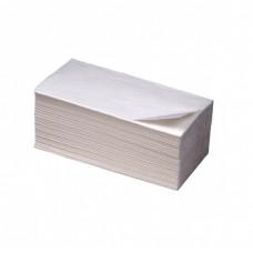 Вик: Полотенца бумажные 200л 1сл 22,5х24см V белые