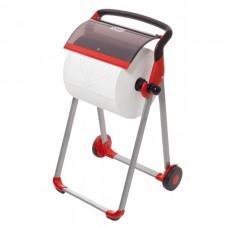 Tork: Диспенсер W1 Performance напольный красный для материалов в рулоне