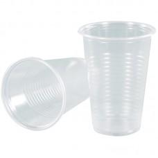 Одноразовая продукция: Стакан 200мл пластиковый прозрачный ЭКОНОМ