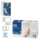 Tork: Полотенца бумажные H2 Universal Multifold 190л 2сл 21х23,4см натуральный