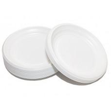 Одноразовая продукция: Тарелка D=20,5см пластиковая
