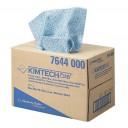 Kimberly-Clark: Салфетки Кимтех 1сл 30,7х42,6см протирочные голубые BRAG* Box