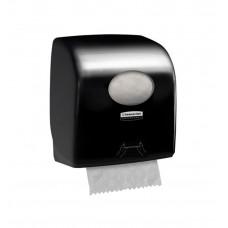Kimberly-Clark: Диспенсер Аквариус Слимролл для полотенец в рулоне черный