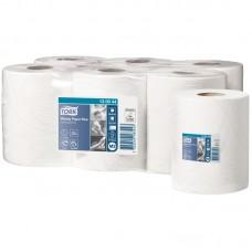 Tork: Полотенца бумажные M2 Advanced 125м/23,5 2сл белые с центральной вытяжкой