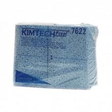 Kimberly-Clark: Салфетки Кимтех 1сл 38,1х49см протирочные голубые