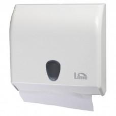 Lime: Диспенсер Prestige для полотенец в пачках белый  Z, V